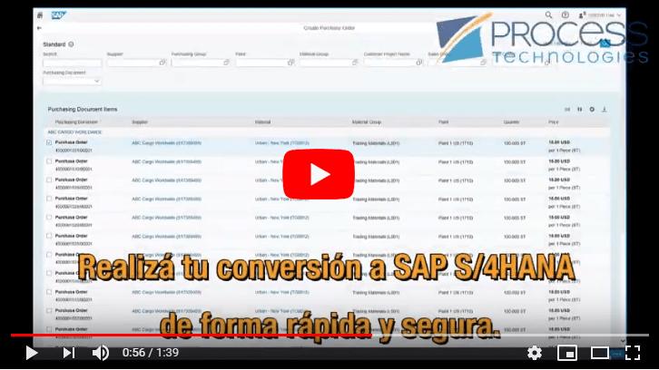 Video Conversion a SAP S/4HANA